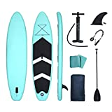 Lucear Sup Stand Up Paddle Board Inflable 320 x 76 x 15 cm Accesorios Completos Remo Ajustable Bomba, Asiento...