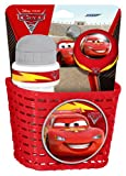 Stamp Cars Combo Basket, Drinking Bottle and Bell, Niños, Rojo, 3+