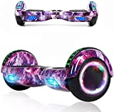 Magic Way Hoverboard - 6.5' - Bluetooth - Motor 700 W - Velocidad 15 km/h - LED - Patinete Eléctrico...