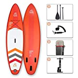 """SEAPLUS Tabla de Paddle Surf Hinchable Sup Inflatable Stand up Paddle Board LB-R 10'8""""*32""""*6"""" con..."""