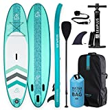 SEAPLUS Tabla de Paddle Surf Hinchable Sup Inflatable Stand up Paddle Board con Dry Bag CL-G...