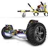 RCB hoverboards SUV Scooter Eléctrico Patinete Auto-Equilibrio Todo Terreno 8.5 ' Patinete Hummer Bluetooth +...