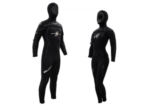 TRAJES BUCEO SEMISECO MUJER