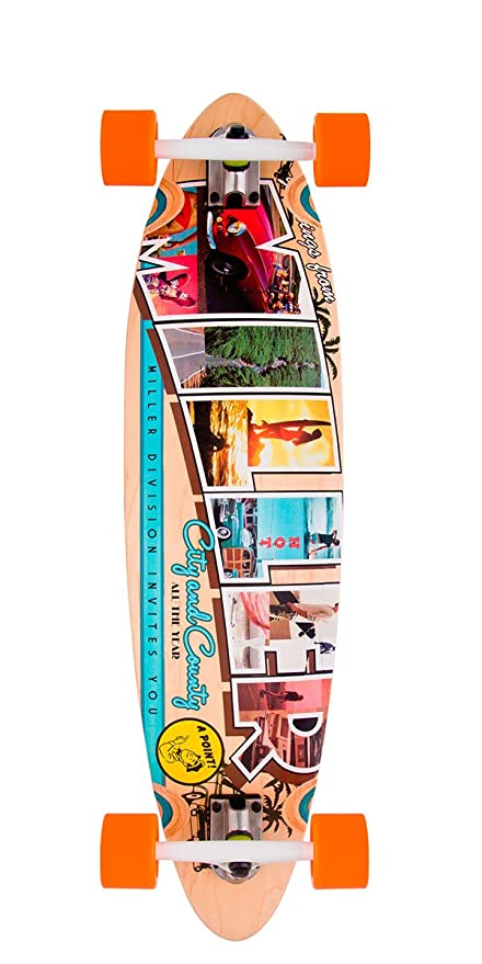 None incoloro Unisex Miller Skateboards Longboard Stocked GB 40 Zoll
